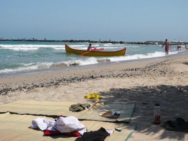 Plaja in Eforie